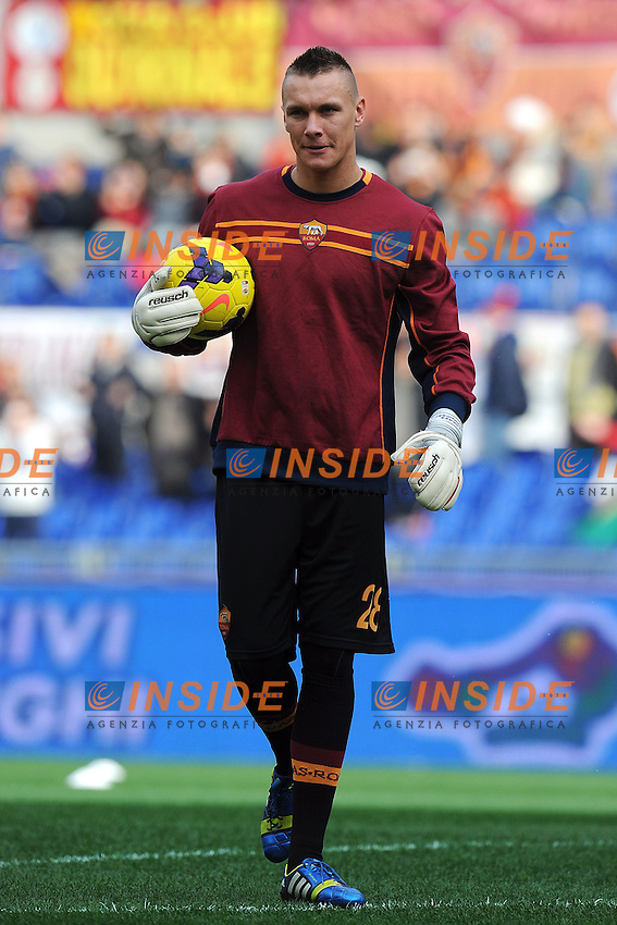 Lukasz Skorupski Roma - Roma 08-12-2013 Stadio Olimpico - Football Calcio Serie A 2013/2014 AS Roma - Fiorentina - Foto Andrea Staccioli / Insidefoto