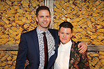 Alex Lubischer and Will Davis attends the Opening Night Press Reception for the Roundabout Theatre Company/Roundabout Underground production of 'Bobbie Clearly' at The Black Box Theatre on April 3, 2018 in New York City.