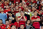 Guangzhou Evergrande fans during the AFC Champions League 2017 Round of 16 match between Guangzhou Evergrande FC (CHN) vs Kashima Antlers (JPN) at the Tianhe Stadium on 23 May 2017 in Guangzhou, China. (Photo by Power Sport Images/Getty Images)