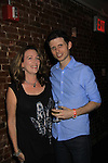 Kathryn Neville Browne and Nick Lewis at Empire The Series cast & crew get together to see the newest episode on August 28, 2012 at Smithfields in Chelsea, New York City, New York.  (Photo by Sue Coflin/Max Photos)