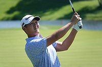 Danny Lee (NZL) during the third round of the Northern Trust played at Liberty National Golf Club, Jersey City, New Jersey, USA. 10/08/2019<br /> Picture: Golffile | Phil Inglis<br /> <br /> All photo usage must carry mandatory copyright credit (© Golffile | Phil Inglis)