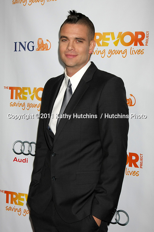 "LOS ANGELES - DEC 4:  Mark Salling arrives at ""The Trevor Project's 2011 Trevor Live!"" at Hollywood Palladium on December 4, 2011 in Los Angeles, CA"
