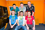 St. Mary's Castleisland Boys U18 at The Kerry Area Basketball Board annual Awards and Medal presentations at the Kingdom Greyhound Stadium Tralee on  Tuesday
