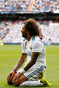 9th September 2017, Santiago Bernabeu, Madrid, Spain; La Liga football, Real Madrid versus Levante; Marcelo Viera da Silva (12) of Real Madrid