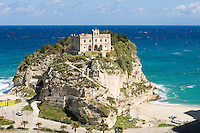 Italy, Calabria, Protea: L'Isola (island) with sanctuary Santa Maria dell'Isola