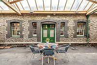 Victorian train station ticketing hall converted property sale