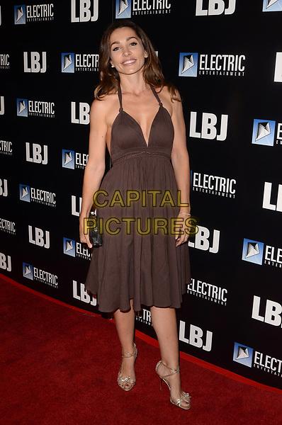 LOS ANGELES, CA - OCTOBER 24: Carlotta Montanari at the premiere of Electric Entertainment's 'LBJ' at the Arclight Theatre on October 24, 2017 in Los Angeles, California. <br /> CAP/MPI/DE<br /> &copy;DE/MPI/Capital Pictures
