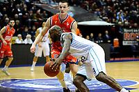 GRONINGEN - Basketbal, Donar New Heroes Den Bosch, kwartfinale NBB beker, seizoen 2018-2019, 14-01-2019, Donar speler LaRon Dendy
