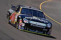 Apr 19, 2007; Avondale, AZ, USA; Nascar Nextel Cup Series driver Greg Biffle (16) during practice for the Subway Fresh Fit 500 at Phoenix International Raceway. Mandatory Credit: Mark J. Rebilas