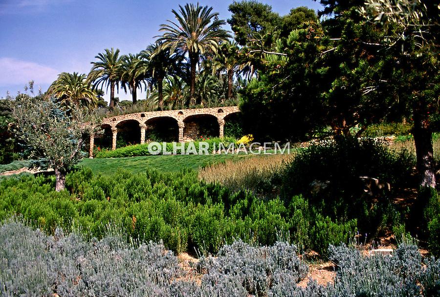 Parque Güel em Barcelona, Espanha. 1998. Foto de Maristela Colucci.