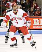 Jordan Kremyr (Providence - 12), Adam Clendening (BU - 4) - The Boston University Terriers defeated the visiting Providence College Friars 2-1 on Saturday, October 23, 2010, at Agganis Arena in Boston, Massachusetts.