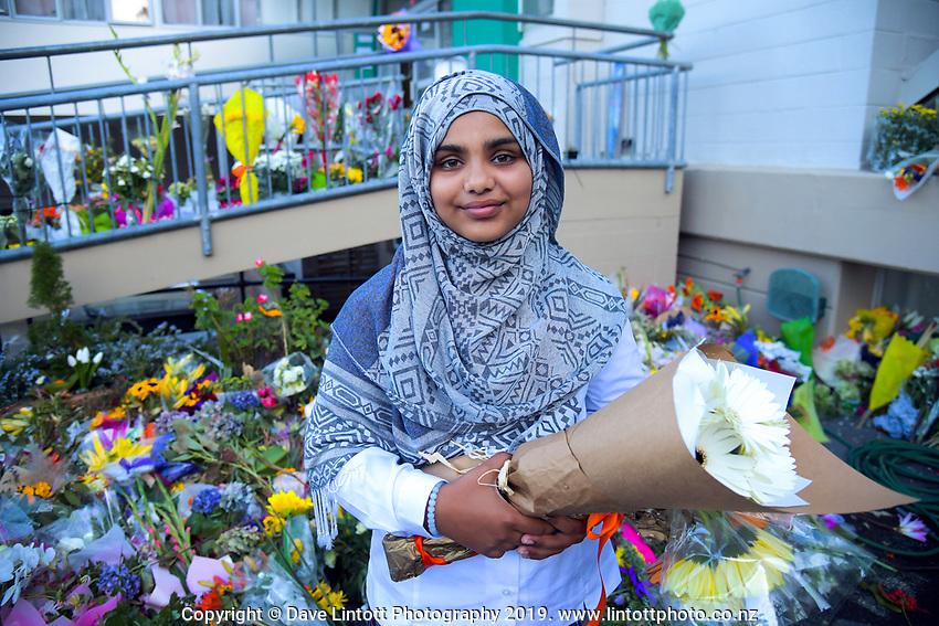 Qiana Ran. Wellington Islamic Centre in Wellington, New Zealand on Tuesday, 19 March 2019. Photo: Dave Lintott / lintottphoto.co.nz