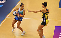 Tayla Earle in action during the ANZ Championship netball match between Northern Mystics and Central Pulse at the Auckland Netball Centre in Auckland, New Zealand on Saturday 18 July 2020. Photo: Simon Watts / bwmedia.co.nz