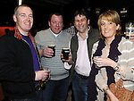 James Coyne, Mary McGovern, Ken Reilly and Anneline Reilly pictured at the annual game night at Dolly Mitchell's Rossin Slane. Photo: Colin Bell/pressphotos.ie