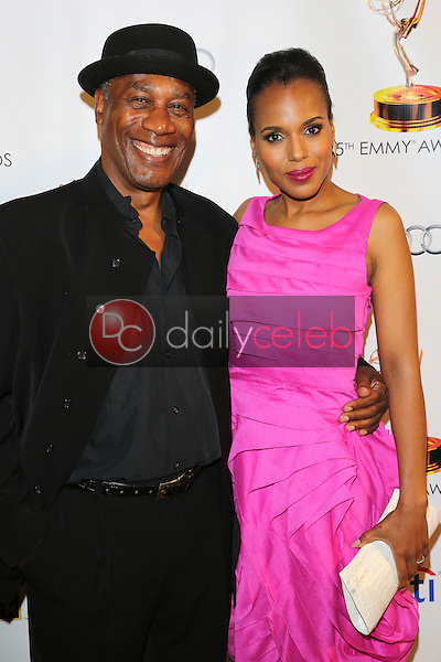Joe Morton, Kerry Washington<br /> at the 65th Emmy Awards Nominee Celebration, Leonard H. Goldenson Theater, North Hollywood, CA 09-17-13<br /> David Edwards/Dailyceleb.com 818-249-4998