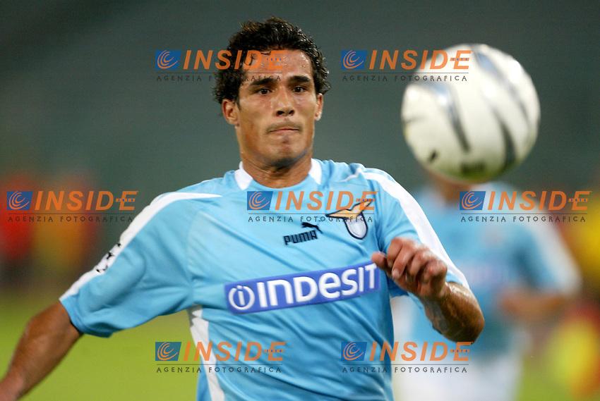 Roma 1/10/2003<br /> Lazio Sparta Praga Champions League<br /> Corradi<br /> Foto Staccioli Insidefoto