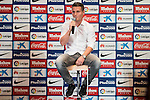 French football player Kevin Gameiro is present like new Atletico de Madrid's football player for the next season 2016-2017 at Vicente Calderon Stadium in Madrid. July 31, Spain. 2016. (ALTERPHOTOS/BorjaB.Hojas)