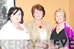 Mary O'Flaherty, Kay Ryan,  and Marie McAuliffe  at his 25th Anniversary celebrations in The Listowel Arms Hotel on Friday night.