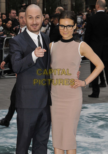 LONDON, ENGLAND - MARCH 31: Darren Aronofsky &amp; Brandi-Ann Milbradt attend the &quot;Noah&quot; UK film premiere, Odeon Leicester Square cinema, Leicester Square, on Monday March 31, 2014 in London, England, UK.<br /> CAP/CAN<br /> &copy;Can Nguyen/Capital Pictures