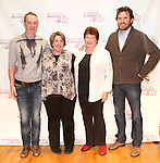 Nigel Gore, Producer Sarah Hancock, Tina Packer & Director Eric Tucker attending the Meet & Greet for Tina Packer's 'Women of Will' at The Gym at Judson in New York City on 1/16/2013