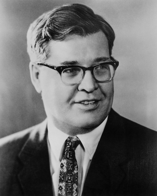 Sen. Lee Metcalf, D-Mont. in 1965. (Photo by CQ Roll Call)