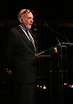 Hal Prince on stage at the  2017 Dramatists Guild Foundation Gala presentation at Gotham Hall on November 6, 2017 in New York City.