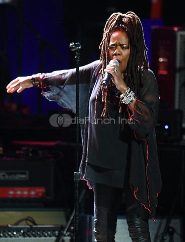 NEW YORK, NY - March 9 : Catherine Russell  Performs on stage at 'Love Rocks NYC! A Change is Gonna Come: Celebrating Songs of Peace, Love and Hope' A Benefit Concert for God's Love We Deliver at Beacon Theatre on March 9, 2017 in New York City. @John Palmer / Media Punch