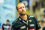 Oliver ROGGISCH (Sportlicher Leiter Rhein-Neckar Loewen) \ beim Spiel in der Handball Bundesliga, SG BBM Bietigheim - Rhein Neckar Loewen.<br /> <br /> Foto &copy; PIX-Sportfotos *** Foto ist honorarpflichtig! *** Auf Anfrage in hoeherer Qualitaet/Aufloesung. Belegexemplar erbeten. Veroeffentlichung ausschliesslich fuer journalistisch-publizistische Zwecke. For editorial use only.