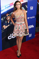 "HOLLYWOOD, LOS ANGELES, CA, USA - AUGUST 07: Nina Dobrev at the Los Angeles Premiere Of 20th Century Fox's ""Let's Be Cops"" held at ArcLight Cinemas Cinerama Dome on August 7, 2014 in Hollywood, Los Angeles, California, United States. (Photo by Xavier Collin/Celebrity Monitor)"