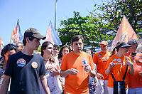 RIO DE JANEIRO, RJ - 02.09.2018 - ELEIÇÕES-2018, O candidato à Presidência João Amôedo (NOVO) durante caminhada pela orla do Leblon (RJ) na manhã deste domingo, Rio de Janeiro (RJ), (Foto: Vanessa Ataliba/Brazil Photo Press/Folhapress)