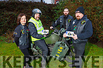 Anita Nolan, Seamus Flaherty, Johnny Downey and John  Foley members of the Southwest Motorcycle Club launching their fundraising event, which is going been held on the 28th December in Lixnaw.