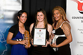 Junior Team of the Year winners - Papakura High School Senior Girls Touch Team. Counties Manukau Sport 17th annual Sporting Excellence Awards held at the Telstra Clear Pacific Events Centre, Manukau City, on November 27th 2008.