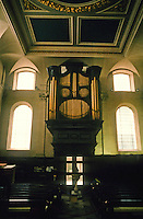 Sir Christopher Wren: St. Clement Eastcheap, 1683-87. Organ. Henry Purcell played here.