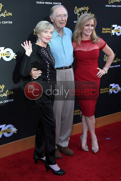 Florence Henderson, Bernie Kopell, Donna Mills<br /> at the Television Academy's 70th Anniversary Celebration Gala, Television Academy, North Hollywood, CA 06-02-16<br /> David Edwards/Dailyceleb.com 818-249-4998