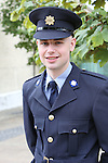 23/7/2015.    Graduating from the Garda College in Templemore this Thursday was Garda Adrian O'Hanlon, Navan road, Dublin who will be stationed at Coolock.<br /> Photograph Liam Burke/Press 22