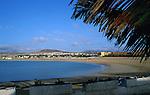 Calleta de Fuste beach,Fuerteventura, Canary Islands.