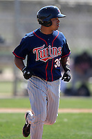 March 18, 2010:  Third Baseman Anderson Hidalgo (36) of the Minnesota Twins organization during Spring Training at the Ft. Myers Training Complex in Ft. Myers, FL.  Photo By Mike Janes/Four Seam Images