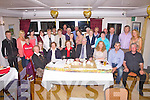 50th Wedding Anniversary, Katie and Jamie O'Connell seated front centre celebrated their 50th anniversary at Cable O'Leary's Bar Ballinskelligs with family and friends on Friday night last.