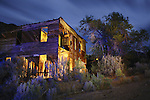 Ruins of the boarding house in the ghost town of Sego, Utah