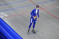 SCHAATSEN: HEERENVEEN: 16-06-2014, IJsstadion Thialf, Zomerijs training, Ireen Wüst, ©foto Martin de Jong