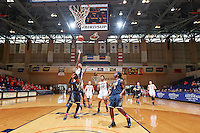 SAN ANTONIO, TX - FEBRUARY 13, 2016: The Florida International University Panthers defeat the University of Texas at San Antonio Roadrunners 59-54 at the UTSA Convocation Center. (Photo by Jeff Huehn)