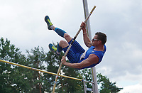 Felix Trogisch (TSG 78 Heidelberg) beim Stabhochsprung - Moerfelden-Walldorf 11.07.2020: Sportfest der LG Moerfelden-Walldorf