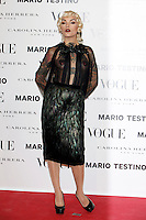 Vinila Von Bismarck attends Vogue and Mario Testino photocall in Madrid. November 27, 2012. (ALTERPHOTOS/Caro Marin) /NortePhoto