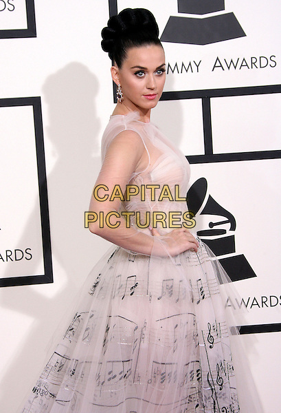 LOS ANGELES, CA - JANUARY 26 - Katy Perry. 56th GRAMMY Awards held at the Staples Center. <br /> CAP/ADM<br /> &copy;AdMedia/Capital Pictures