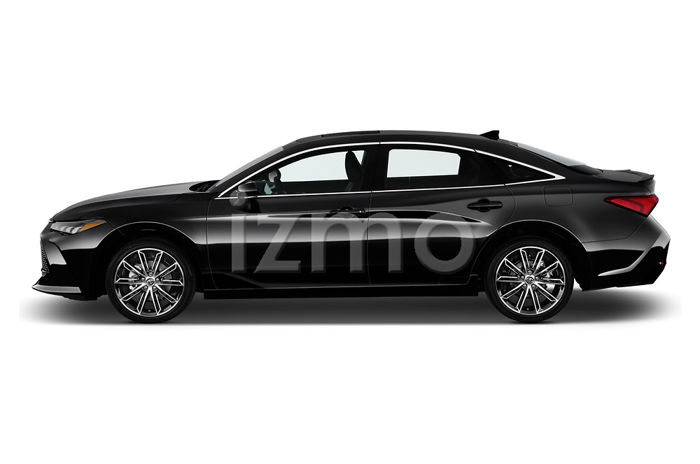 Car driver side profile view of a 2020 Toyota Avalon XSE 4 Door Sedan