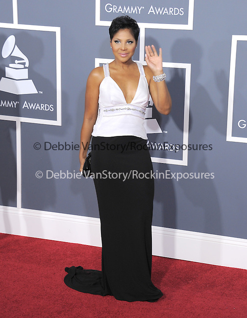 Toni Braxton attends The 53rd Annual GRAMMY Awards held at The Staples Center in Los Angeles, California on February 13,2011                                                                               © 2010 DVS / Hollywood Press Agency