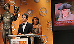 Eric McCormack and Angela Bassett announced the nominees for the 15th Annual Screen Actors Guild Nominations announcement held at the Pacific Design Center West Hollywood, Ca. December 18, 2008