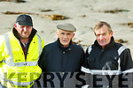 Paul Dineen, Denis Hayes and Syvie Carroll of Ballyheigue before the start of the Ballyheigue Races on Wednesday last.