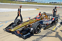 9-10 July, 2016 Newton, Iowa USA<br /> James Hinchcliffe (#5)<br /> &copy;2016, F. Peirce Williams