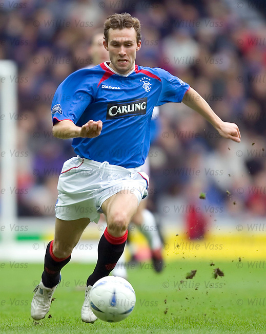 Thomas Buffel, Rangers.stock season 2004-2005.pic willie vass
